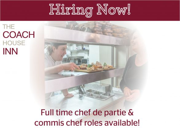 Currently hiring in our kitchen!