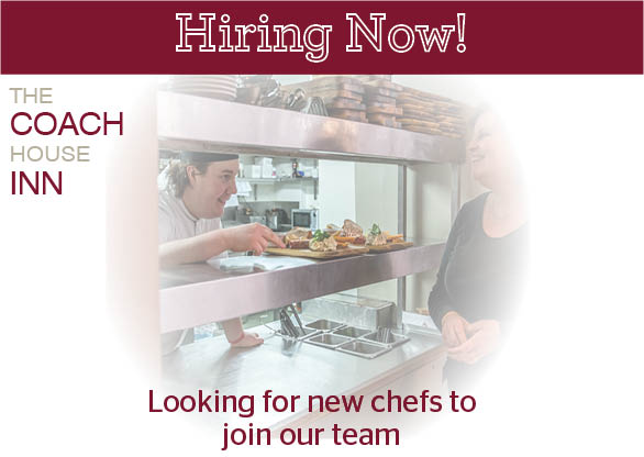 Now Hiring! Looking for a Part Time Chef