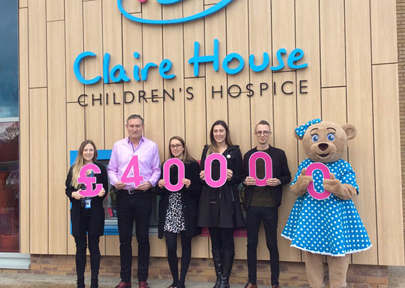 £40,000 raised for Claire House Children's Hospice