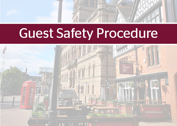 Our Guest Safety Procedure - Please Read